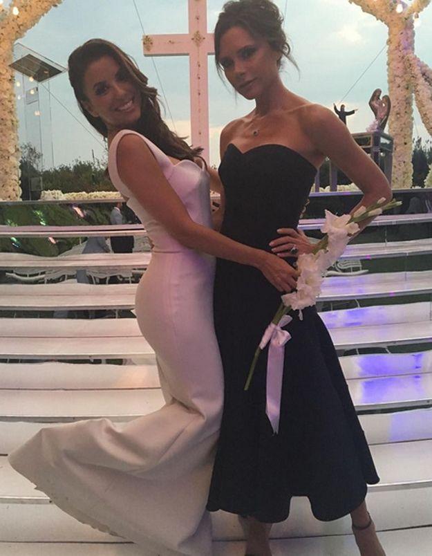 Eva Longoria a dit «oui» : découvrez sa robe de mariée