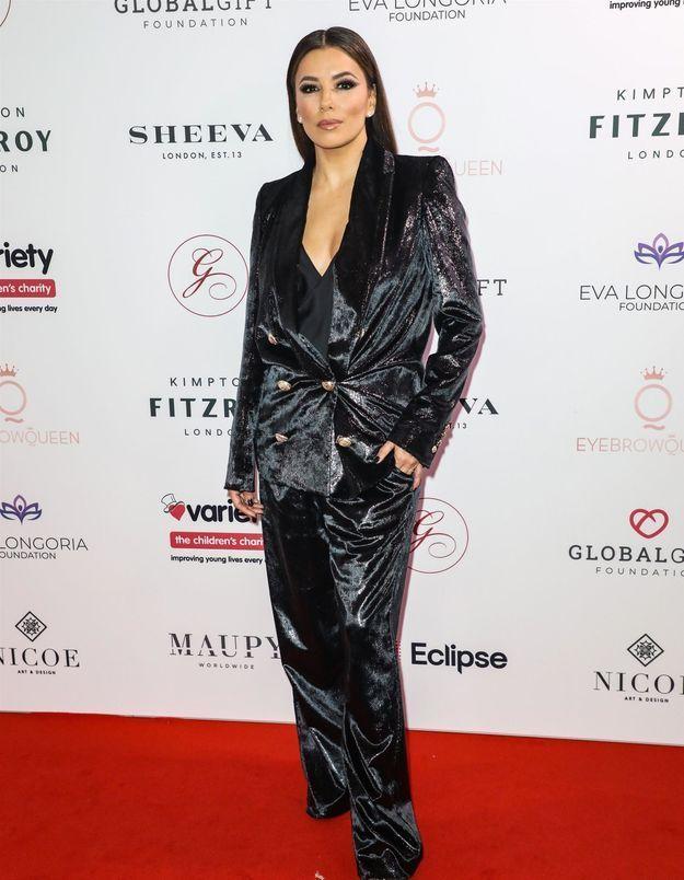 Eva Longoria : reine de l'élégance au Global Gift Gala