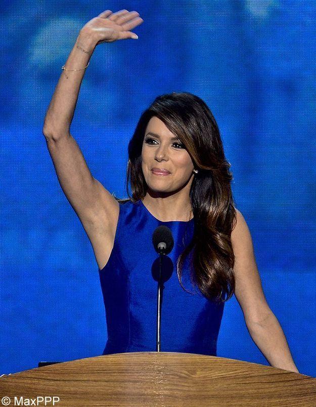 Eva Longoria s'excuse pour un tweet anti-Mitt Romney
