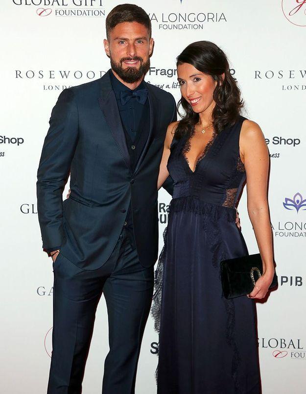 Olivier et Jennifer Giroud