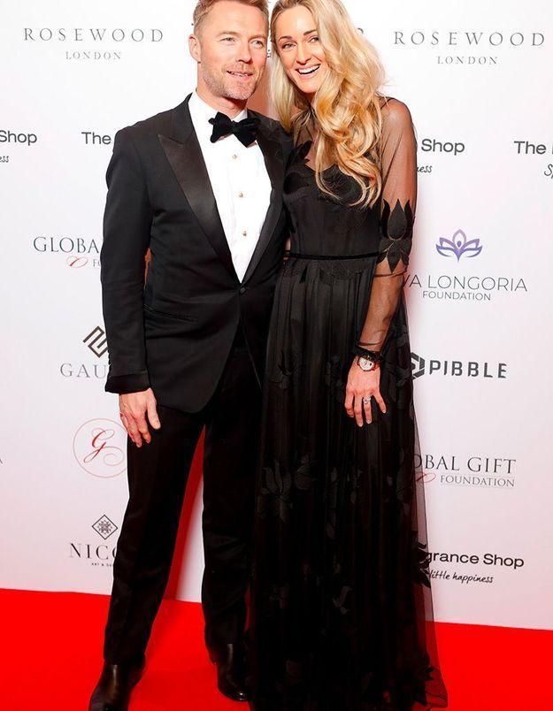 Ronan Keating et sa femme Stormi
