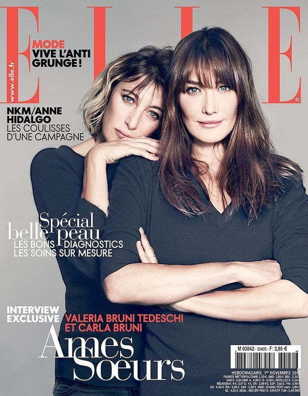 Exclusif : Carla Bruni et Valeria Bruni-Tedeschi en interview dans ELLE