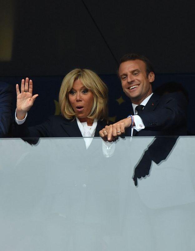 Brigitte et Emmanuel Macron étaient totalement déchaînés