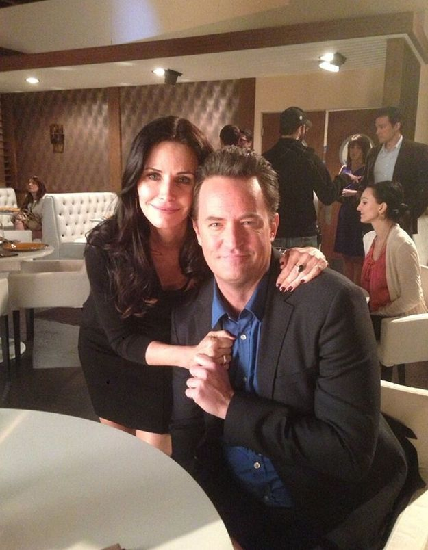 «  Friends  » : Chandler et Monica à nouveau réunis