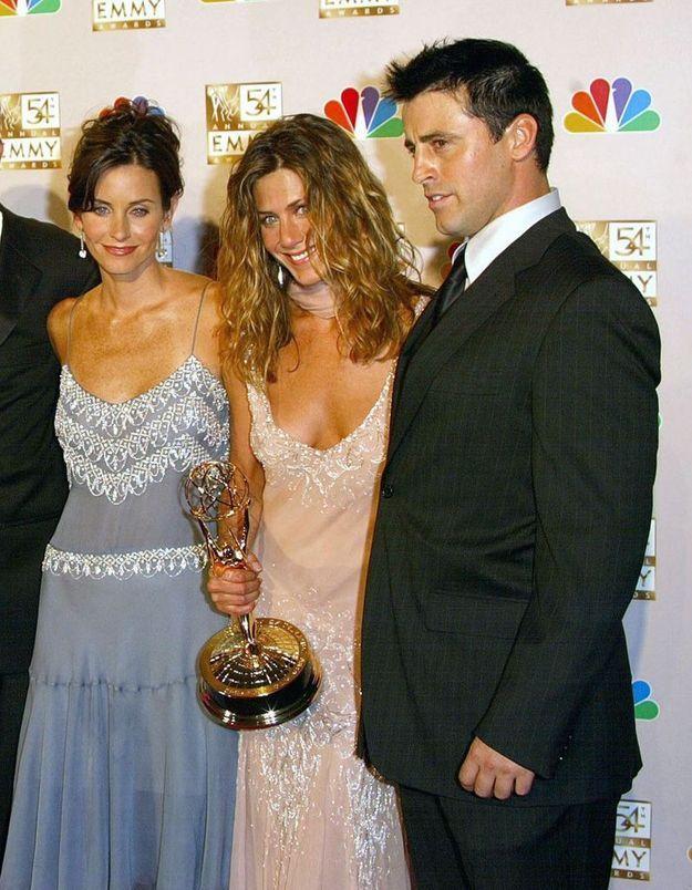 Friends : Jennifer Aniston, Matt LeBlanc et Courteney Cox réunis sur un rare cliché