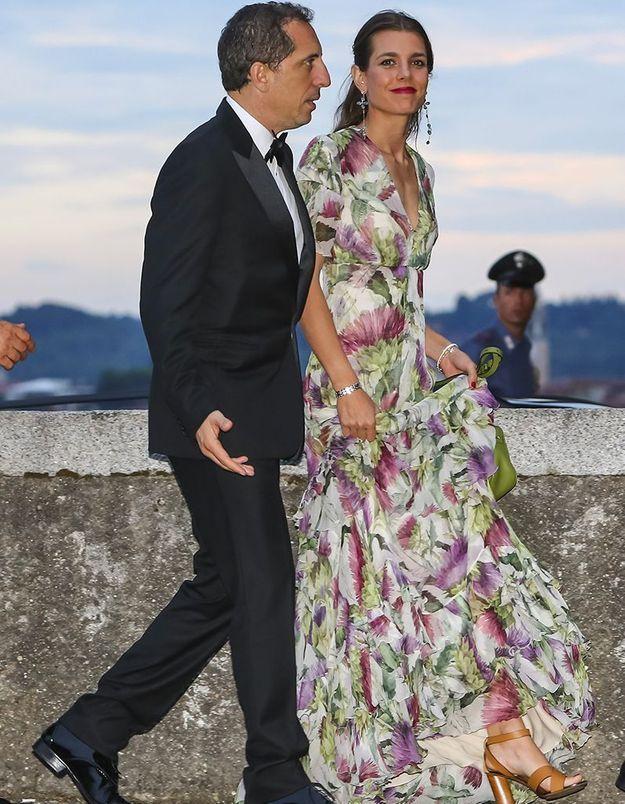 En 2015, au mariage de Pierre Casiraghi