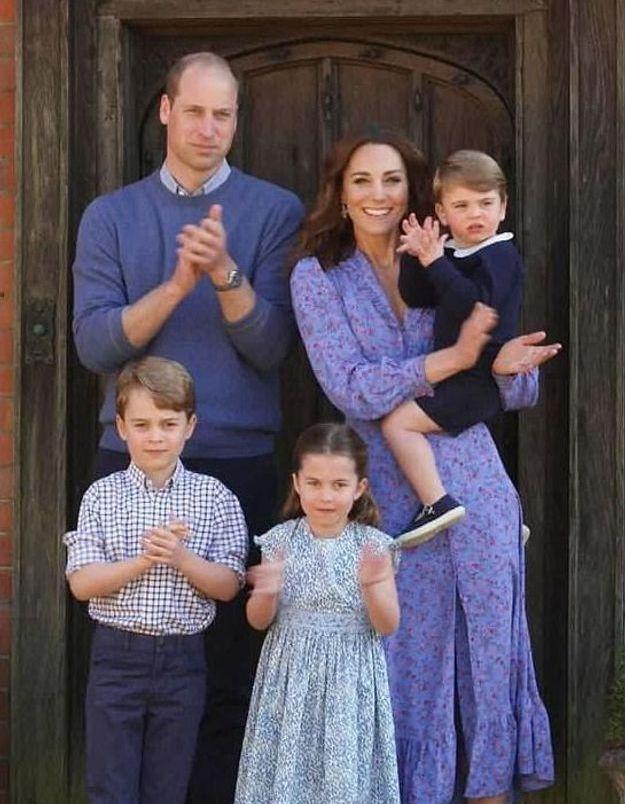 George, Charlotte, Louis : apparition surprise avec Kate Middleton et le prince William pour les soignants