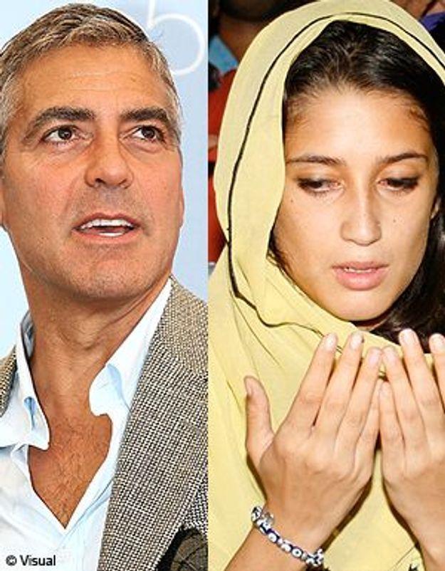 George Clooney craque sur la nièce de Bénazir Bhutto