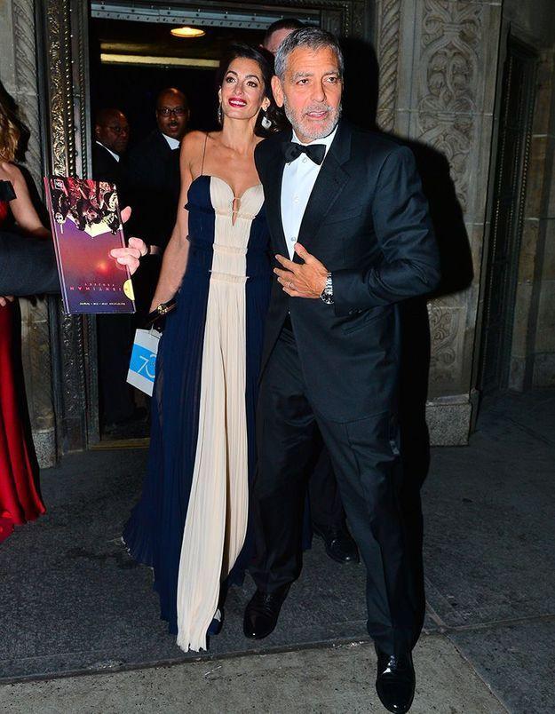George et Amal Clooney à New York