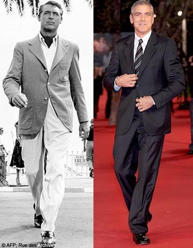 George Clooney vs Cary Grant : qui est le plus chic ?