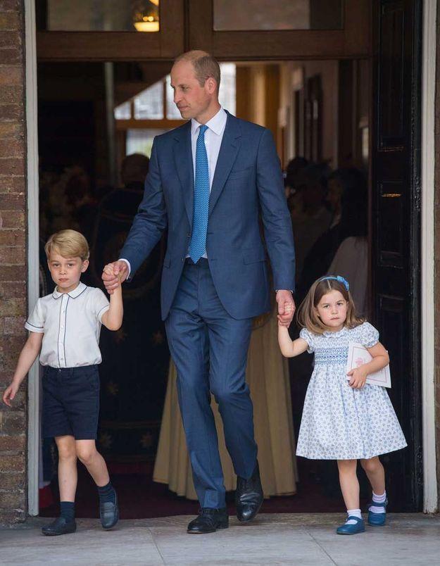 George, Charlotte et le prince William