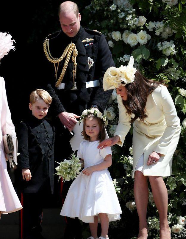 La famille des Cambridge réunie au mariage du prince Harry et de Meghan Markle