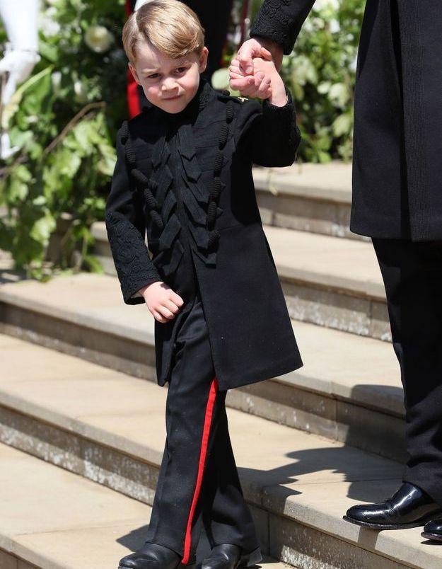 Le prince George, très élégant au mariage du prince Harry et de Meghan Markle