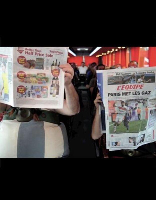Gérard Depardieu parodie l'affaire de l'avion