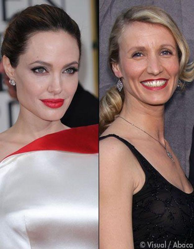 Golden Globes: Angelina Jolie fan d'Alexandra Lamy!