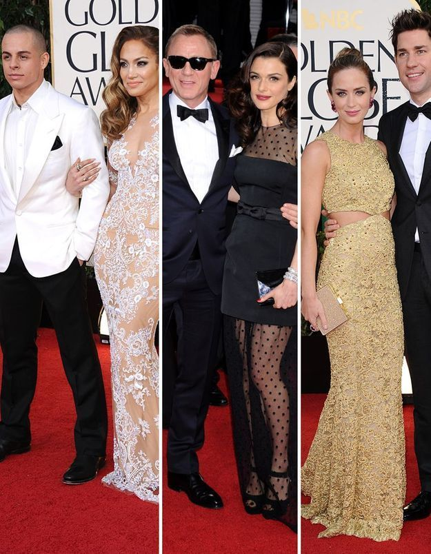 Golden Globes : les couples font leur coming-out !