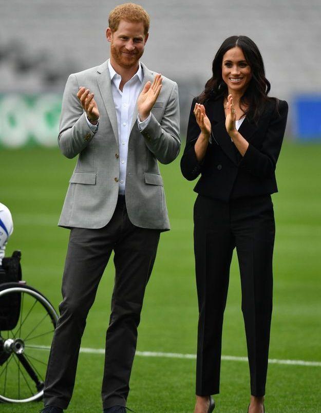 Harry et Meghan ont assisté à une démonstration de football gaélique