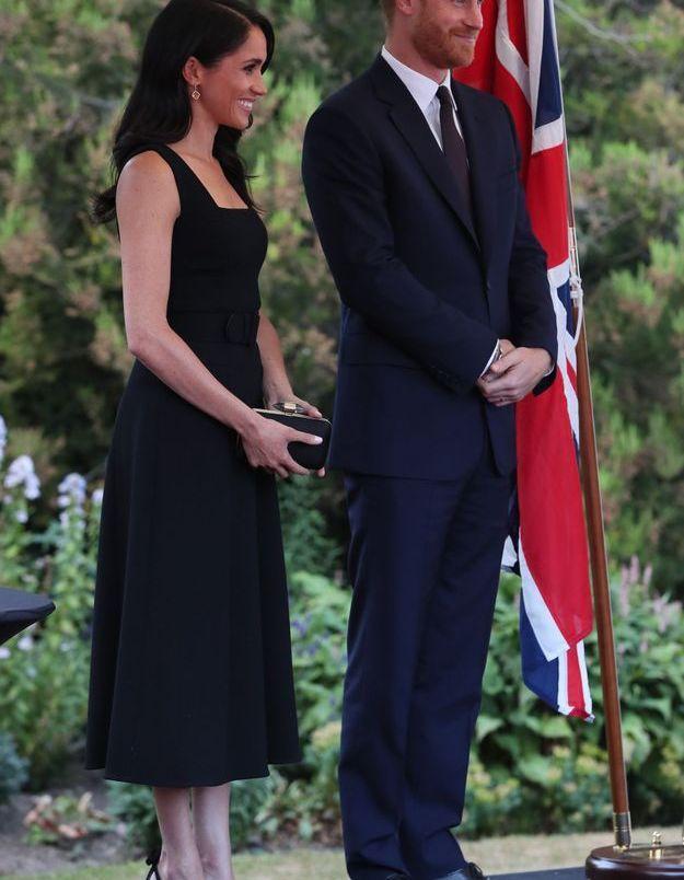 Meghan Markle et le prince Harry à la soirée de l'ambassade britannique à Dublin