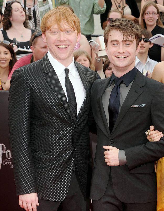 Harry Potter : Daniel Radcliffe réagit à la paternité de Ron, alias Rupert Grint