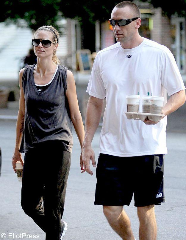 Heidi Klum avoue sa relation avec le bodyguard