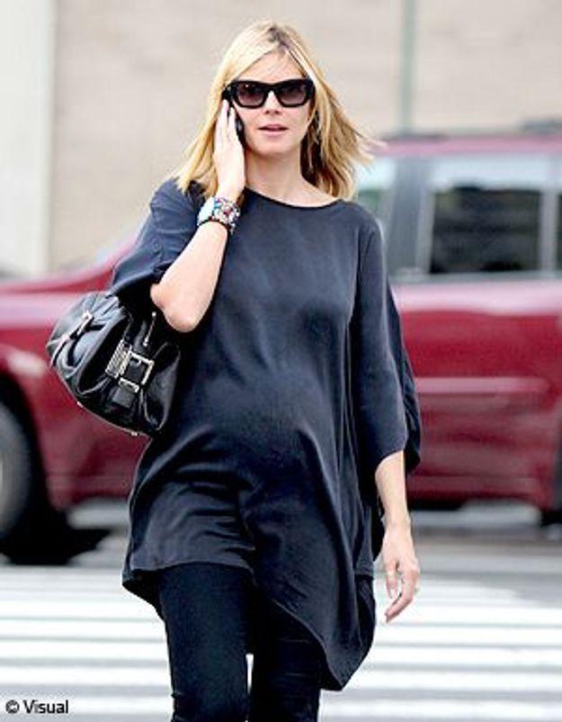 Heidi Klum enceinte : « J'ai l'impression d'être Buddha ! »