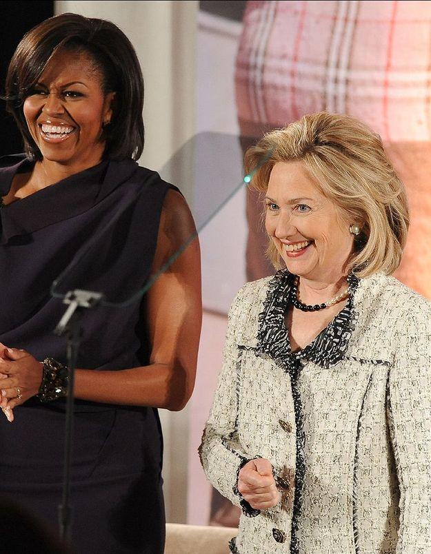 Hillary Clinton est nommée secrétaire d'Etat par Barack Obama
