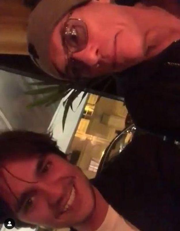 Alain-Fabien Delon et Jean-Claude Van Damme tournent une drôle de vidéo