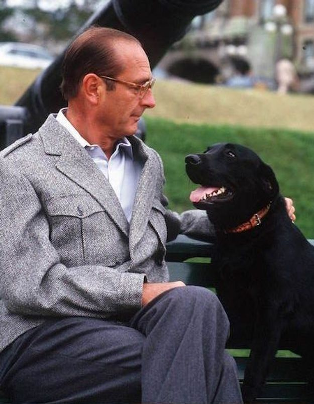 Jacques Chirac : Maskou, Sumo et Sumette, les chiens de l'Elysée