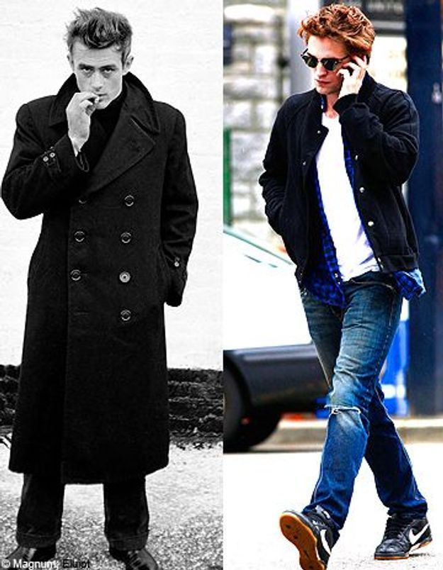James Dean - Robert Pattinson : deux idoles, deux Eden