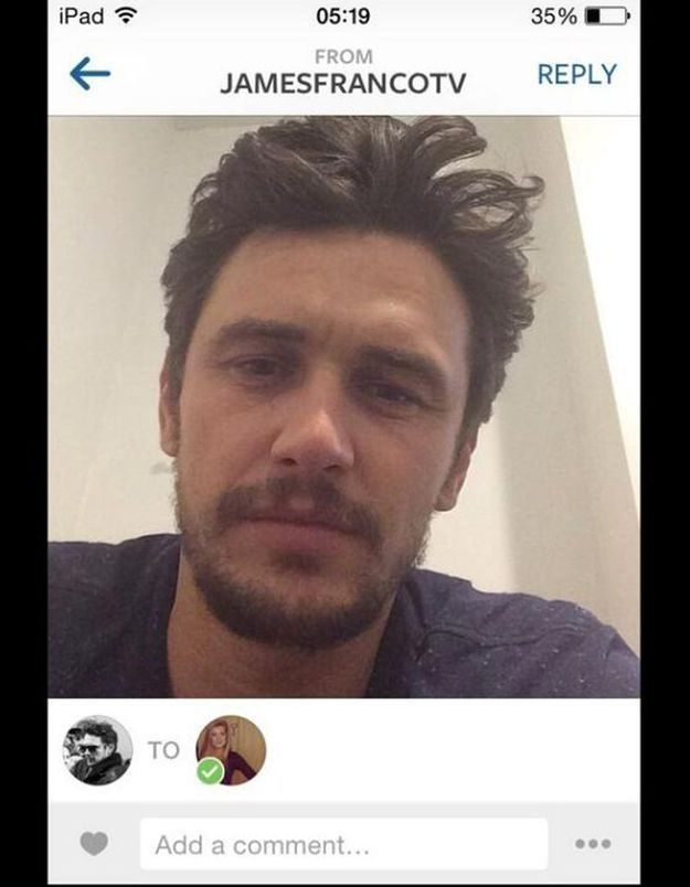 James Franco a-t-il dragué une mineure sur Instagram?