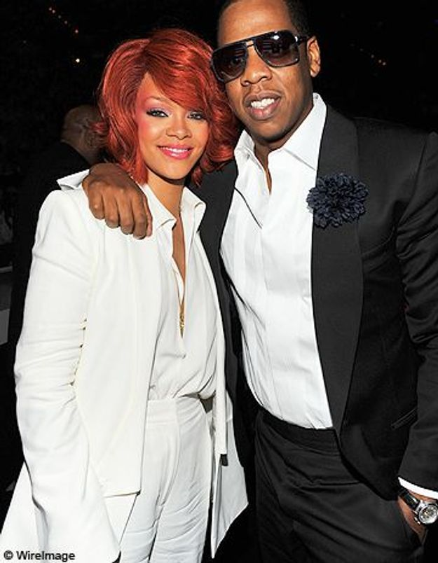 Jay-Z désapprouve l'attitude de Rihanna