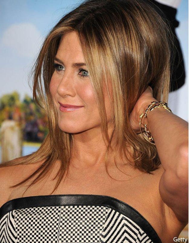 Jennifer Aniston en larmes à la télévision américaine
