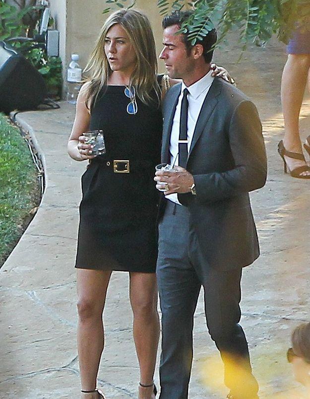 Jennifer Aniston et Justin Theroux font du repérage pour leur mariage
