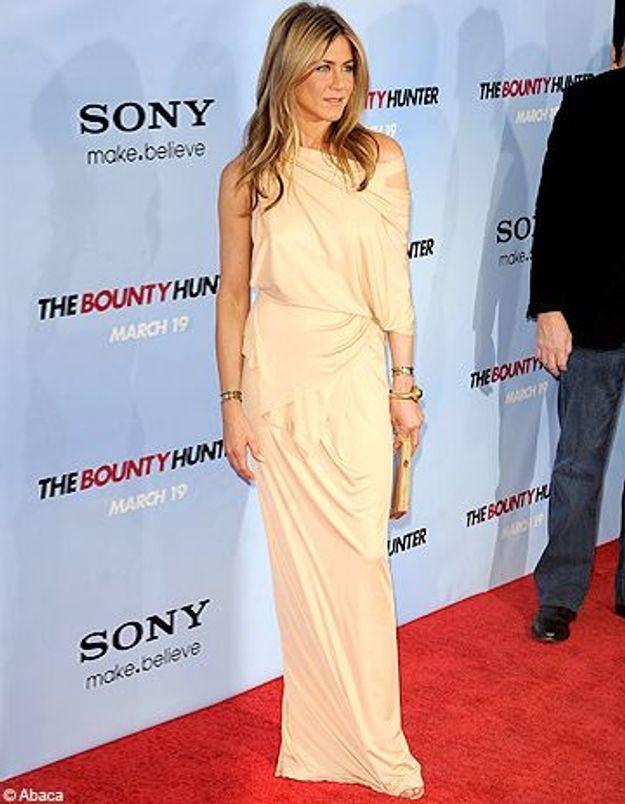 Jennifer Aniston : star la mieux habillée de l'année !