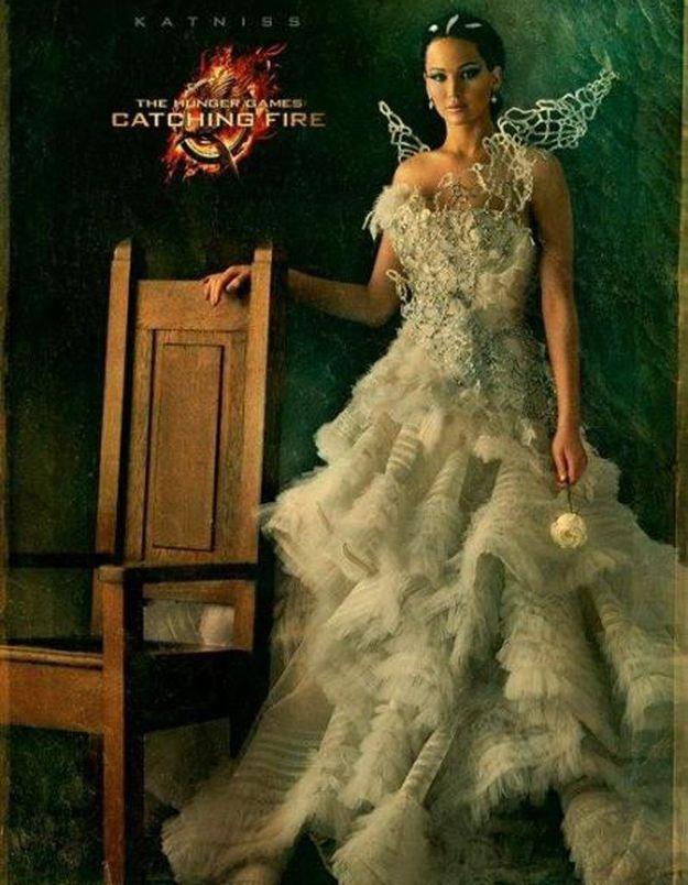 Jennifer Lawrence : sublime sur la nouvelle affiche de « Hunger Games »