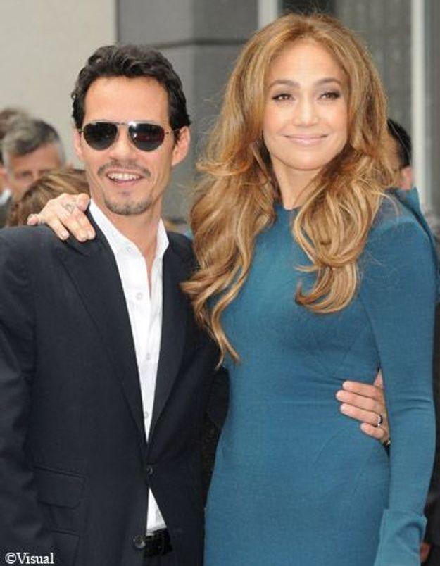 Jennifer Lopez et son ex-mari Marc Anthony à nouveau réunis