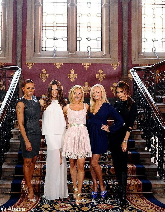 JO 2012:Les «Spice Girls»ont commencé à répéter