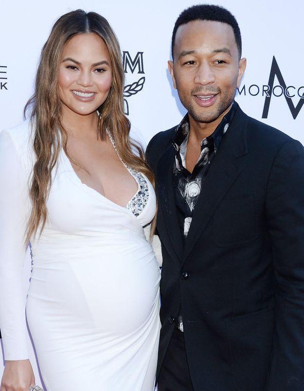 John Legend et Chrissy Teigen parents pour la seconde fois : découvrez le prénom du bébé