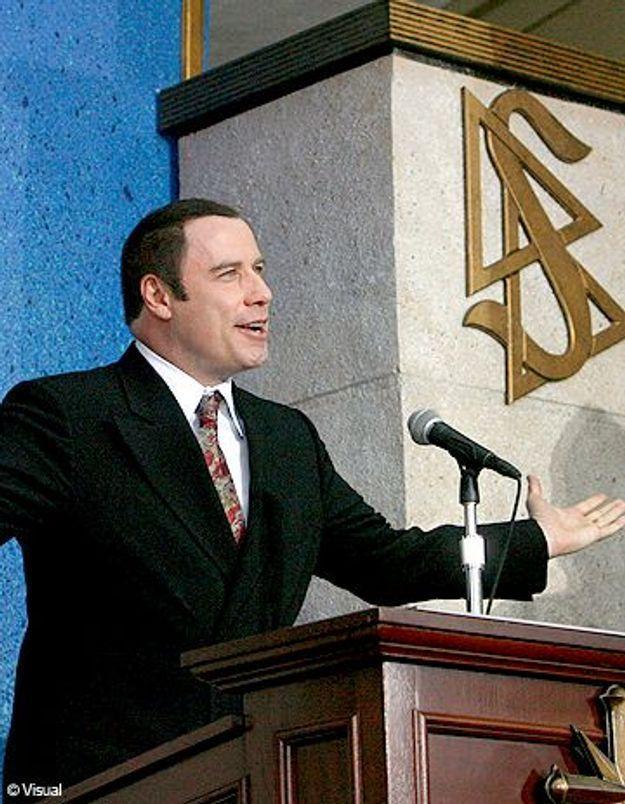 John Travolta réconcilié avec la Scientologie