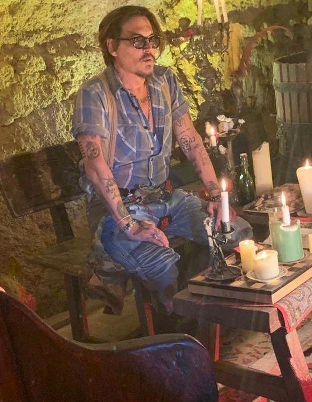 Johnny Depp confiné en France, dans la maison qu'il avait achetée avec Vanessa Paradis