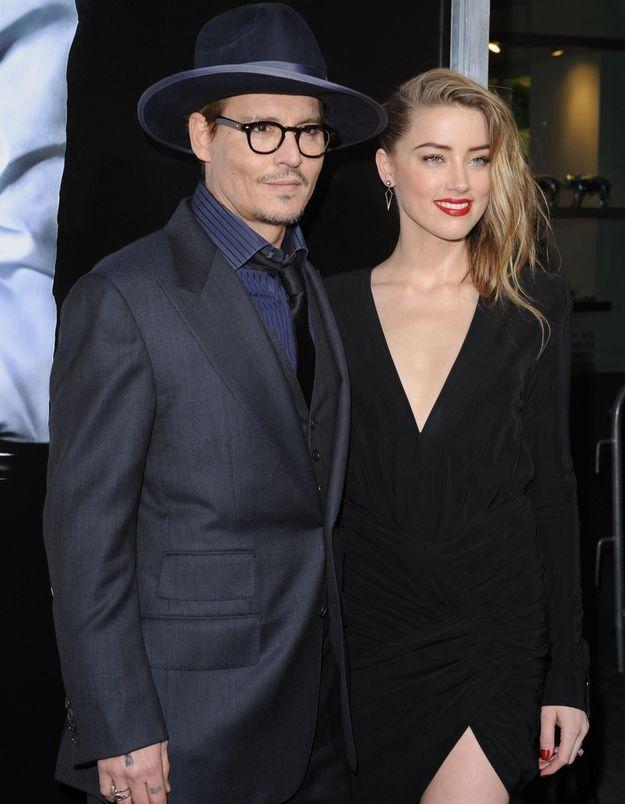 Johnny Depp déclare publiquement son amour à Amber Heard