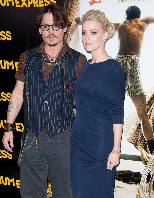 Johnny Depp et Amber Heard : la photo qui fait le tour du Web