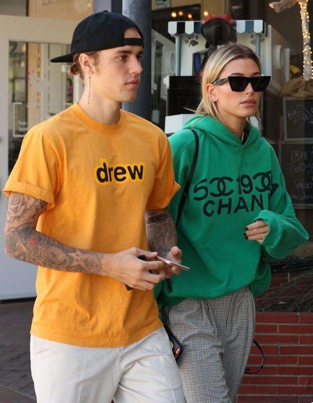 Justin Bieber maquille sa femme Hailey Baldwin et le résultat est plutôt pas mal