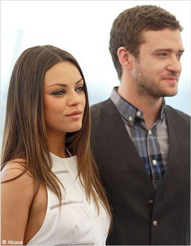 Justin Timberlake et Mila Kunis de plus en plus complices