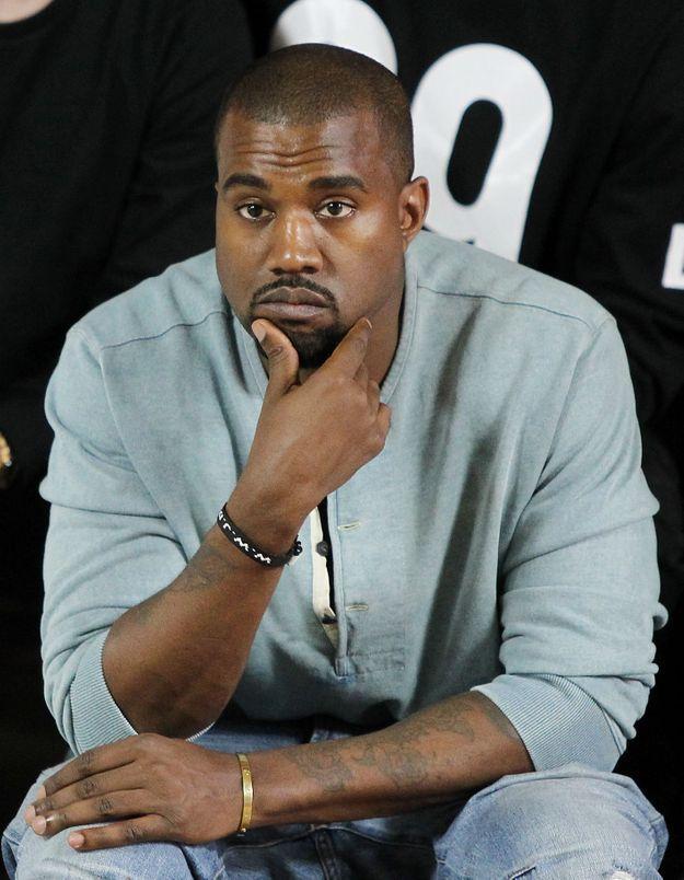 Kanye West, un jeune papa un peu à cran ?