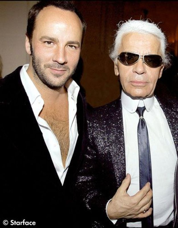 Karl et Tom Ford