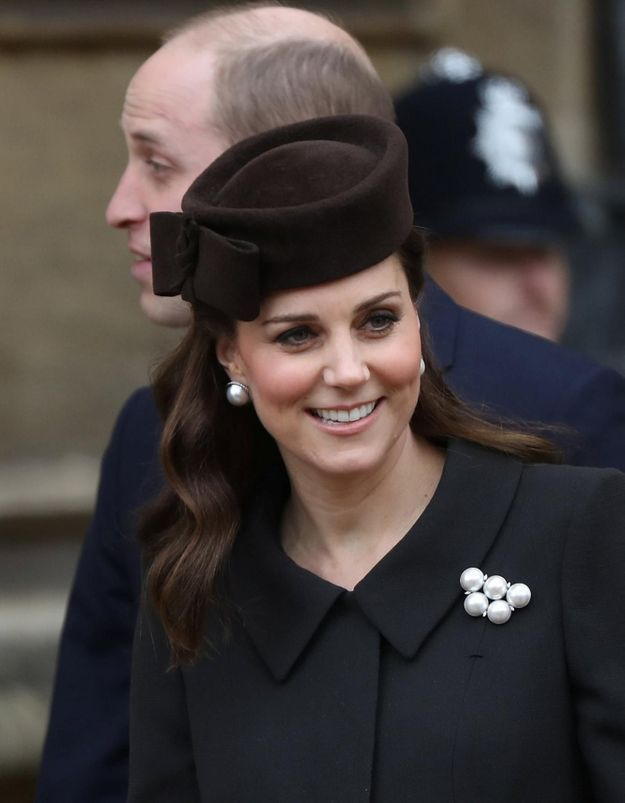 Kate Middleton a été admise à la maternité ce matin