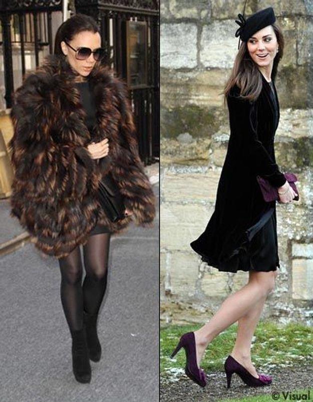 Kate Middleton commande des robes à Victoria Beckham