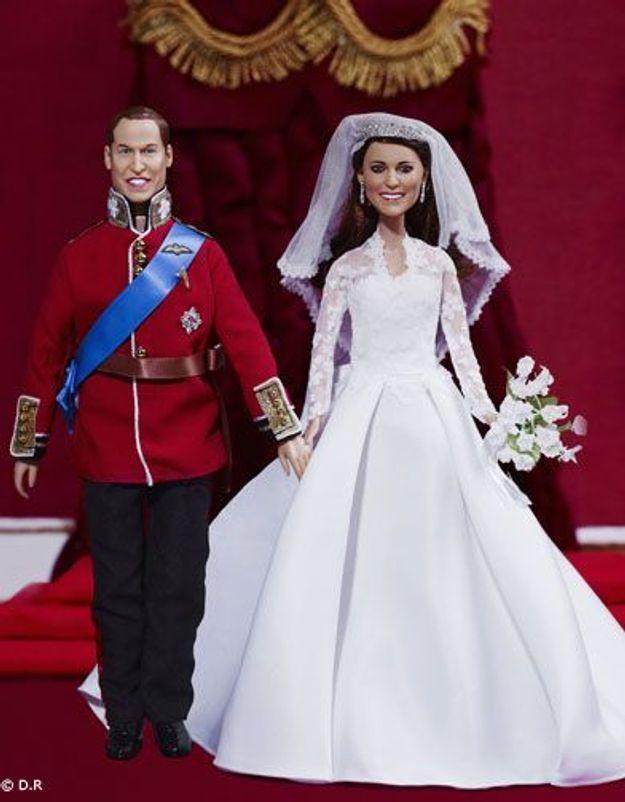 Kate Middleton en robe de mariée : sa poupée est un succès !