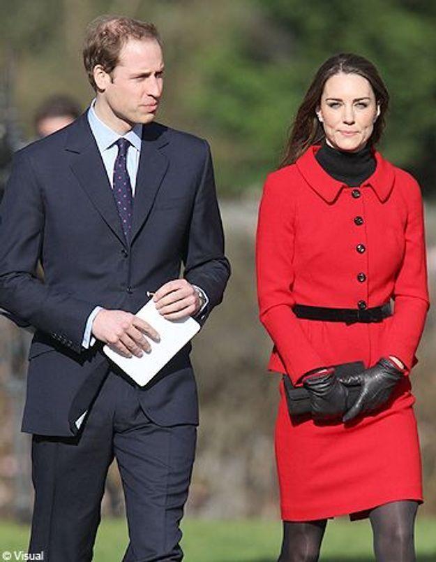 Kate Middleton et le Prince William au fil de l'eau